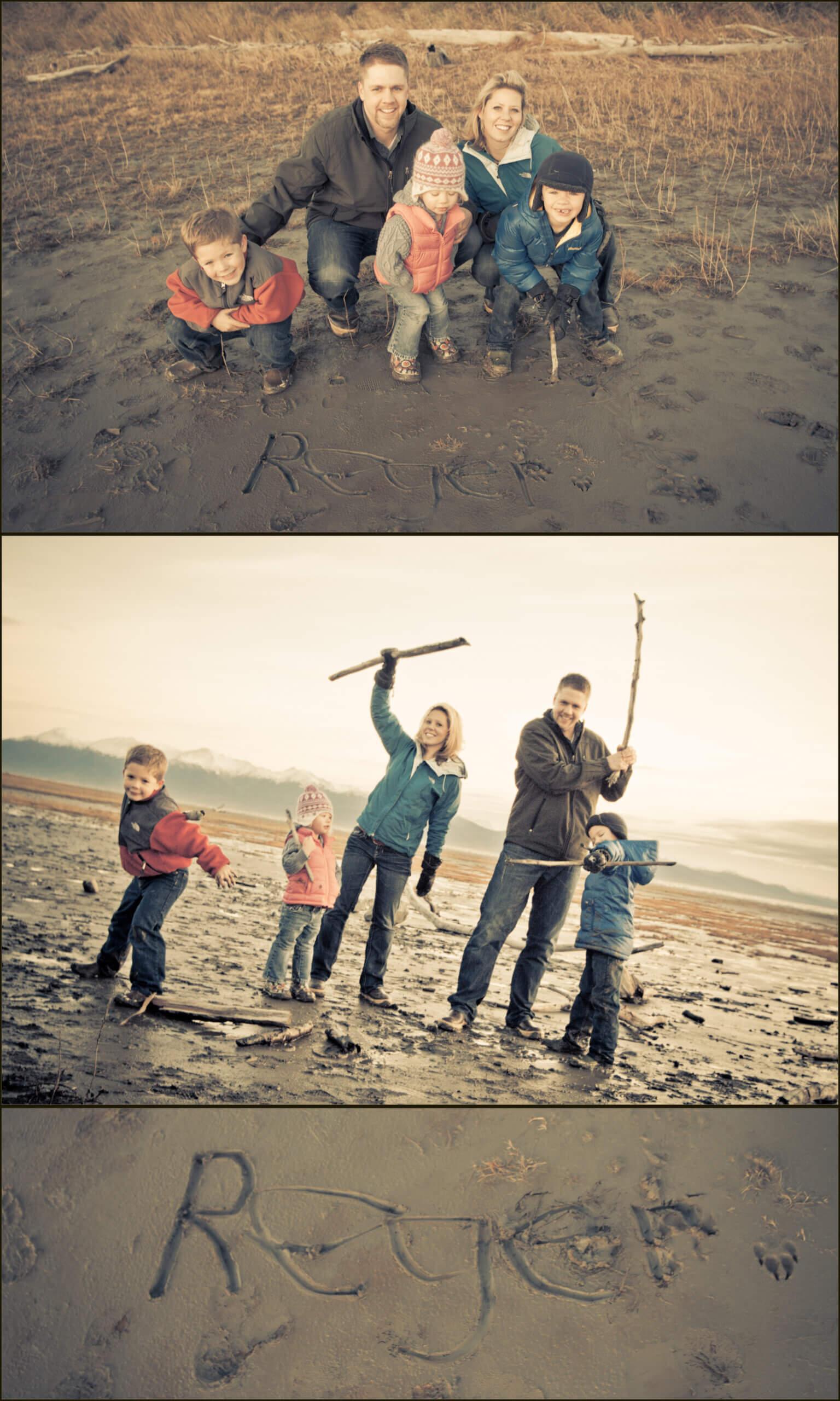 Reger family Alaska photo session